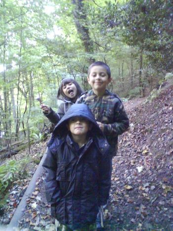 Togetherness Forest Smiling Leisure Activity Real People Siblings❤️ Happiness Looking At Camera