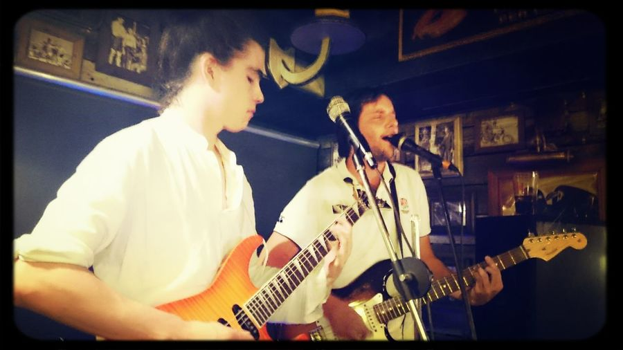 Carlos GM & Antonio SS at Dublins Music Live Barcelona Santmori