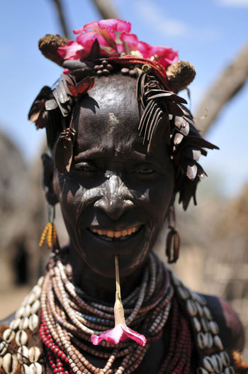 Ethiopia Ethiopian Photography 🇪🇹 Omo Valley Travel Photography Africa Flower Flower Head Key Afer Mursi Omo River
