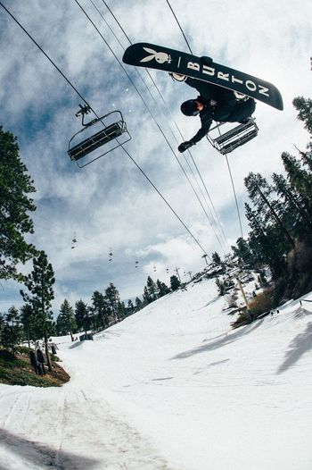 Bearmountain California Spring Snowboarding Rider: Zak Hale