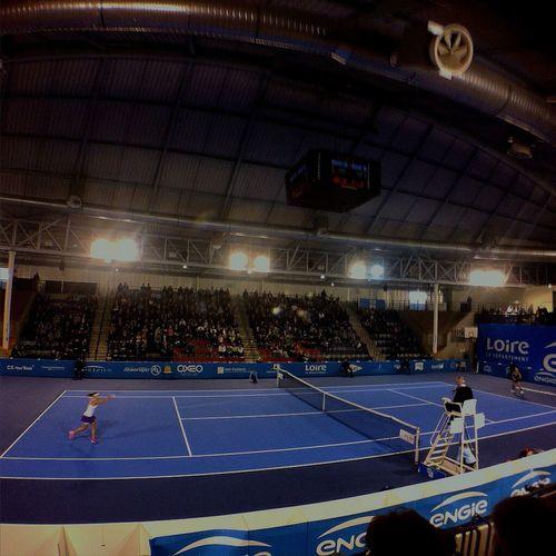 Finale de l'engie open féminin cet après-midi Tenniscourt Tennis 🎾 Sport Enjoying Life Loire