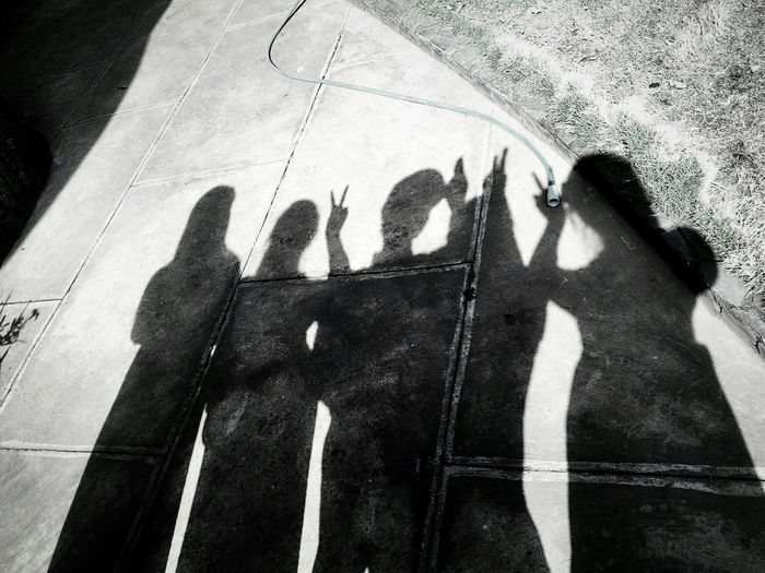 Friends Our Shadows  Light And Shadow Darkness And Light Shadows