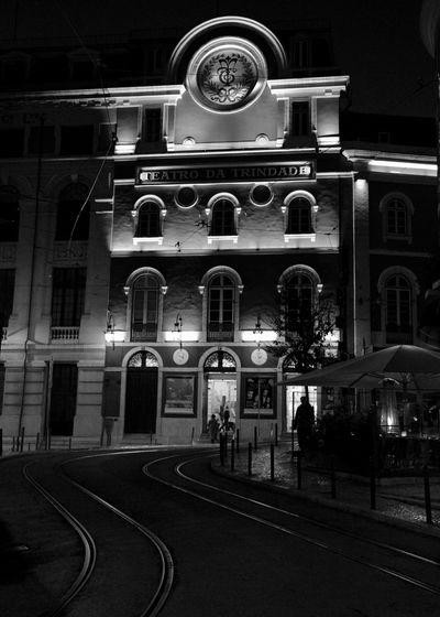night street in
