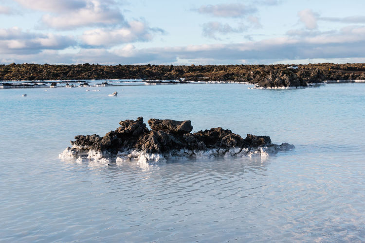 Blue Lagoon Blue Lagoon Iceland Iceland Beauty In Nature Blue Blue Water Eden Prairie Geothermal Water Hot Spring Icelandic Landscape Landscape Nature Scenics - Nature Spa Tranquil Scene Tranquility Water