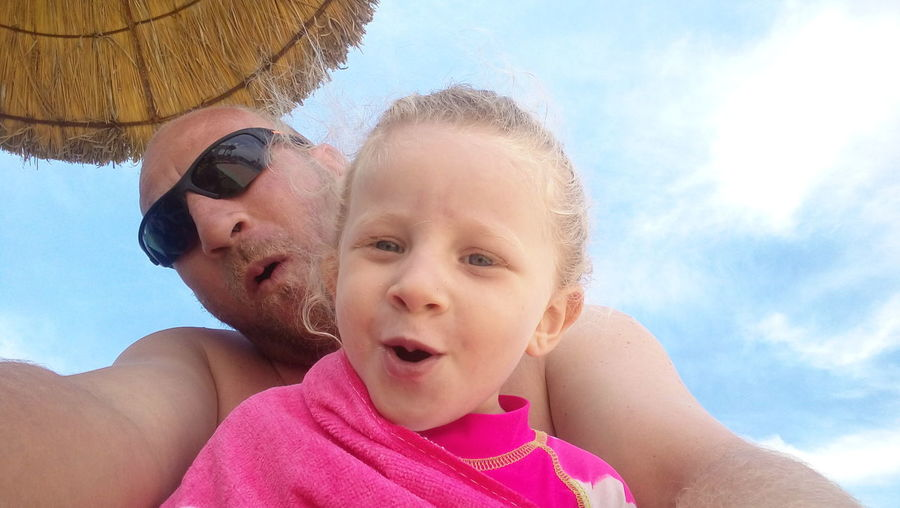 Rym Sky Day اطفال Amour. Rire Enfance Vacances 👌👍😜 Tranquility