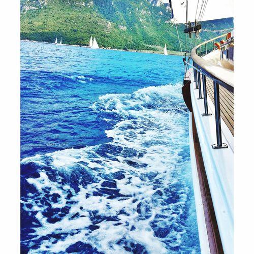 Going Sailing Sea GreenAndBlue  Bodrum, Turkey