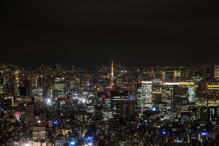 View from the Tokyo Sky Tree Architecture Building Exterior Built Structure City Cityscape Illuminated Modern Night No People Outdoors Sky Skyscraper Tokyo Sky Tree Tokyo Sky Tree View Travel Destinations Urban Skyline Neighborhood Map