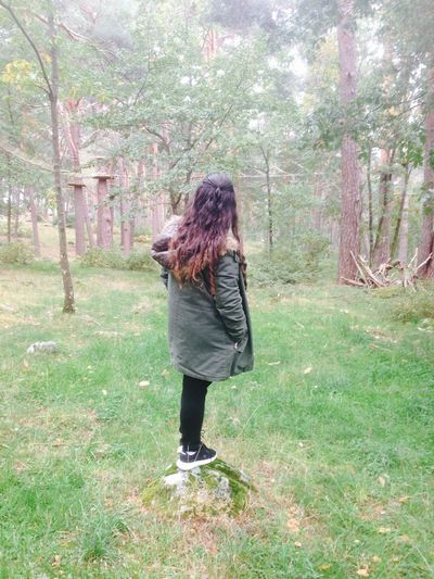 Hair Girl Nature Soria SPAIN Its Cold Outside