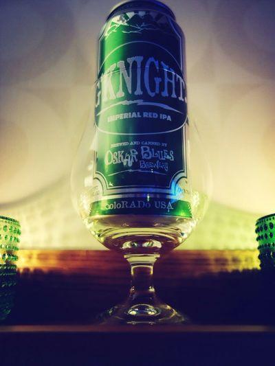 Det här dricker jag, vad dricker ni? Oskarblues G'knight Craft Beer Craftbeer