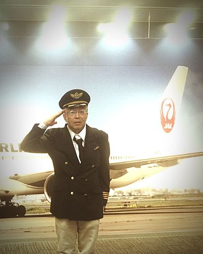 Done That. Airplane Occupation 😚 Close-up Uniform Pilot ❣ this type 🅿️ilot ℹ️s safety..smooth flight..isn't it⁉️