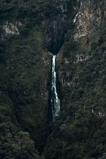 Quietly. Water Nature No People Waterfall Motion Day Outdoors Travel Destinations Scenics Beauty In Nature Go Higher