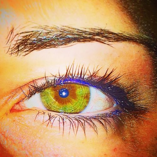 Left eye Eyes Self Portrait Color Portrait
