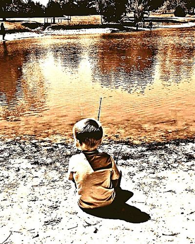 My GOLDEN BOY Modern Father Eye4photography  OklahomaStrong Mobile_photographer Fatherhood Moments Daydreamer Countryside Eye4photography Shapshots Of Life Mood Capyures Great Atmosphere