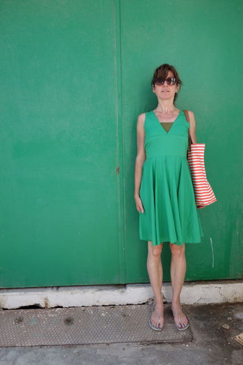 Green Color Standing One Woman Only Perfect Match The Street Photographer - 2017 EyeEm Awards The Purist (no Edit, No Filter) Outdoors Summer Day The Architect - 2017 EyeEm Awards Color Photography Eyeemphotography Streetphotography From My Point Of View The Photojournalist - 2017 EyeEm Awards BYOPaper! Taking Photos City The Portraitist - 2017 EyeEm Awards Makemoreportraits