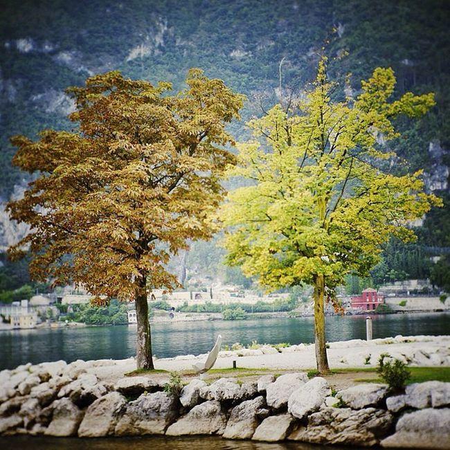 Эстафета Italy Eurotrip Travel Season  duotone rivadelgarda calm nature