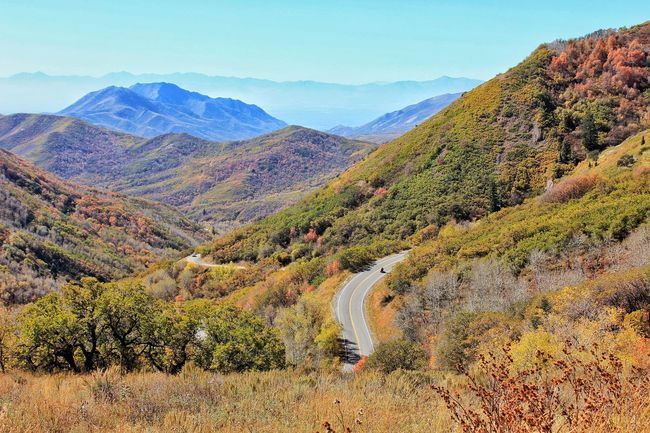 EastCanyon,Utah Fall Colors Canyon Road Landscapes With WhiteWall The Great Outdoors With Adobe