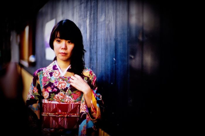 Portrait Of A Friend Kimono Kyoto Japan Noctilux LeicaM7