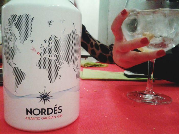 Relaxing Gintonic Spanish Gin Galicia