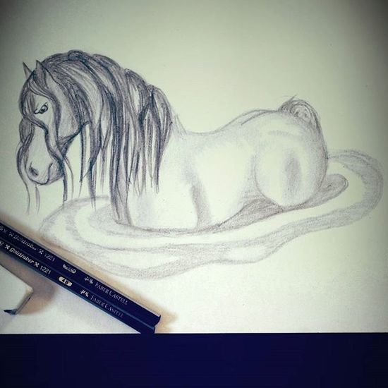 "Horsey horsey horse face 🐴 ""Why so angry? Horse Arts_help Creative_animalart Animalart Pond Waterhorse Arts_gallery Creative Pencil Wip Horses Fashion Followforfollow Angry Shading  Graphite Artofdrawingg Pony Stallion Dark Moody Art_spotlight Tattooart Inkart"