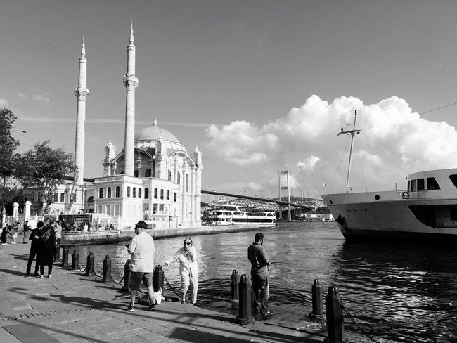 Ortaköy Mosque Architecture Built Structure Travel Destinations Building Exterior Travel Outdoors