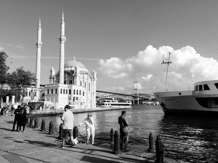 Ortaköy Mosque Architecture Built Structure Travel Destinations Building Exterior Travel Outdoors