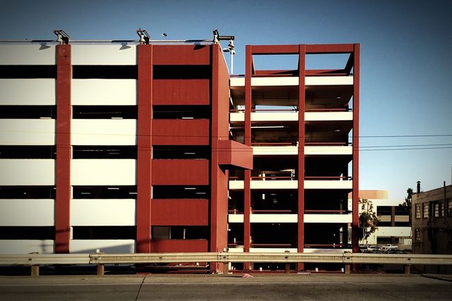 Los Angeles parking frame Finding Parking Urban Geometry Car Architecture At School Life City