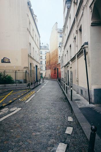 Paris Architecture Building Building Exterior City No People Outdoors Road Street