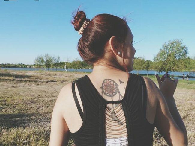 Tattoo ❤ Atrapasueños Beautiful Day