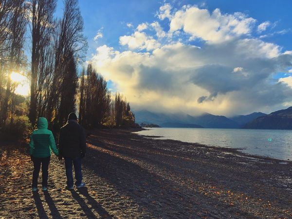 Together Forever Love Couple Walk Together Togetherness Together Holding Hands Rear View Walking Real People Beauty In Nature Cloud - Sky Two People Leisure Activity Lifestyles Outdoors Family Time Forever Husband And Wife New Zealand Wanakalake Wanaka New Zealand Along The River Before Sunset Be. Ready.
