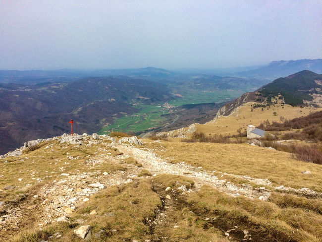 Autumn Slovenia Vipava Valley Beauty In Nature Day Grass Hill Landscape Mountain Mountain Range Nature No People Outdoors Scenics Sky Tranquil Scene Tranquility Valley