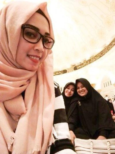 Masjid Mujahidin Ukhty Silaturahim Friends Taking Photos Moeslem Hijabstyle