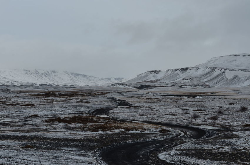 Iceland Iceland Memories Road Road Less Travelled Beauty In Nature Cold Temperature Iceland Trip Landscape Mountain Mountain Range Nature No People Outdoors Snow Snowcapped Mountain EyeEmNewHere