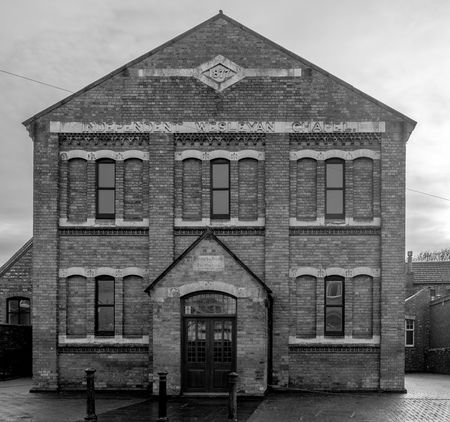 Independent Wesleyan Chapel, Cannon Street, Wellingborough, Northamptonshire FUJIFILM X-T2 Town Monochrome Photography Black And White Monochrome Urban Northamptonshire Wellingborough Street Wesleyan