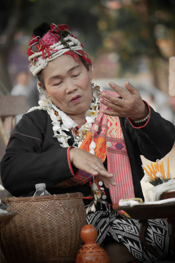 Culturre laos spiritual leader shaman magician magus mystic propher