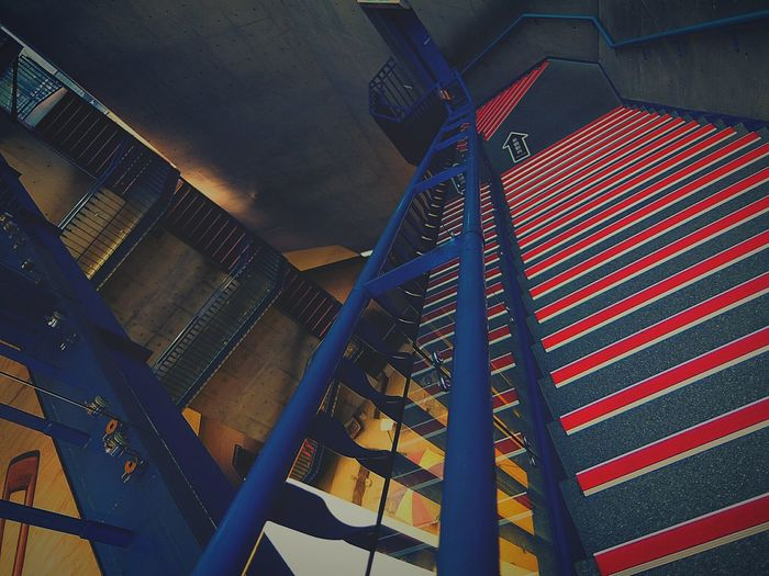 Stairs Stairs_collection Architecture Architectural Detail Red And Blue Colors Colorful Stripes And Stairs Pattern Pieces
