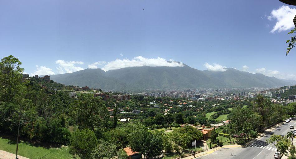 Caracas El Avila .Caracas Venezuela Beauty In Nature Cityscape Mountain Mycity No People Sky