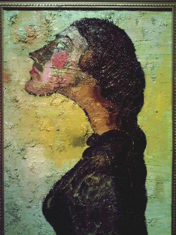 """""""Inesse Looking in the Distance"""", 1999, Зураб Констинович Церетели, Холст, масло"""