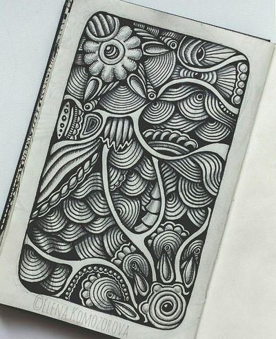 Doodling ArtWork Drawing Zendoodle