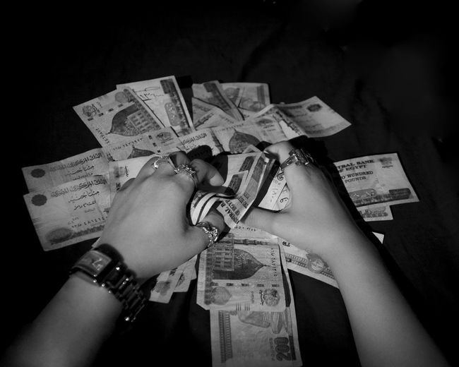 """He who wants everything every time, will lose everything any time"" First Eyeem Photo GREED Money Darkness"