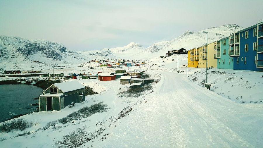Narsaq Southgreenland Greenland Narsaararmiit Winter2016 November2016