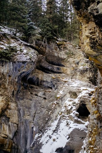 Canada Rock - Object Rock Formation Waterfall River Scenics Nature Mountain Tranquil Scene No People Tree Tranquility Travel Destinations Rapid Forest Outdoors Beauty In Nature Day Sky Water Power In Nature