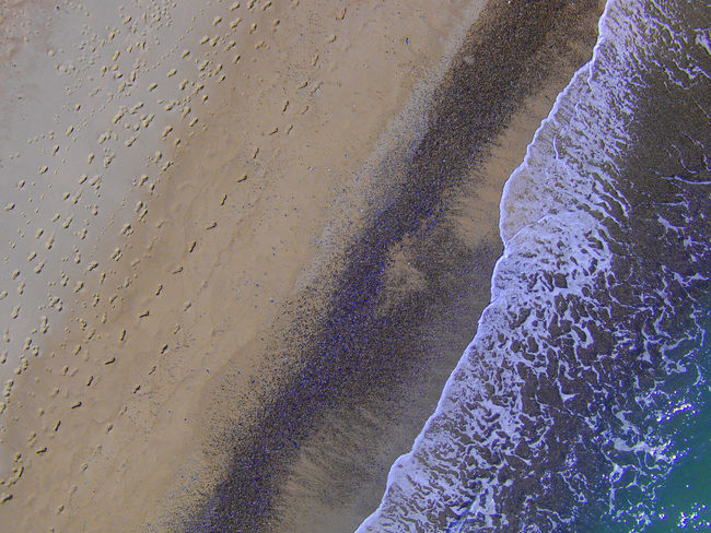 Beach Beauty In Nature Day Footsteps In The Sand Nature No People Outdoors Sand & Sea Water