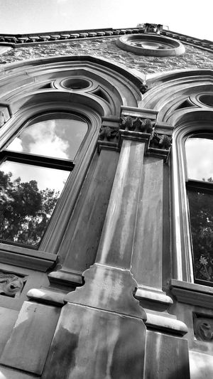 Discovering Great Works Walking Around My Perspective Black And White Photography Rest In Peace Travelling Stonework Chapel