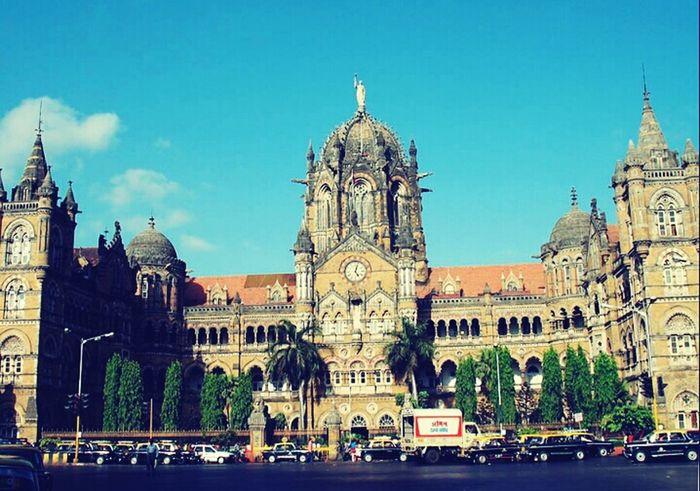 Mumbai CST Architecture Urban Life Travel Summer Vintage Architecture Mesmerising City Of Dreams Cityscape Looks good friends?