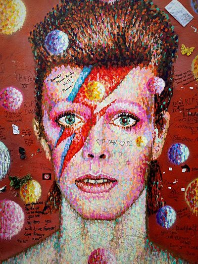 Elegant legendary multifaceted artist. By Jimmy C. Jimmy C David Bowie Tribute David Bowie Dedication Davidbowie David Bowie