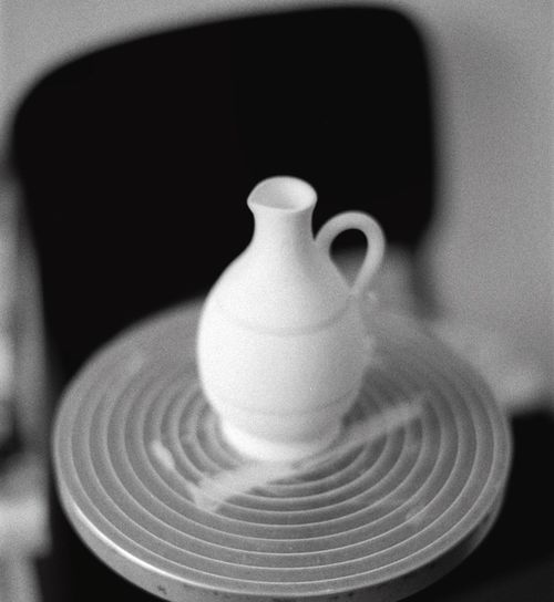 Tuscany EyeEm Film Photography Close-up No People Indoors  Shape Design Still Life Selective Focus Single Object Simplicity Pottery Art And Craft Black Background High Angle View Focus On Foreground Creativity