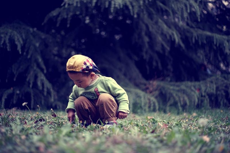 Child One Person One Boy Only Childhood Children Only Grass Adventure Nature Travel Innocence Art Is Everywhere