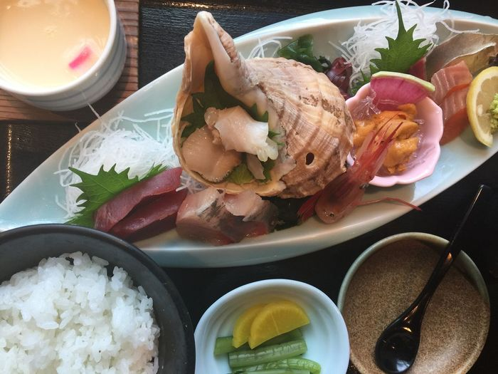 Food Freshness Food And Drink Bowl Ready-to-eat Salad Healthy Eating Plate Meal Table Serving Size No People Indoors  Close-up Day Seashell ミル貝 ミルクイ 海松貝