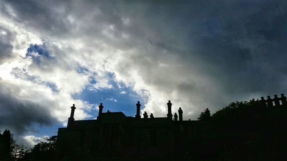 Check This Out Storm Cloud Autumn Rain Clouds Chimney Tops Jacobean Manor House Silouette & Sky Eye4photography  Eyeemphotography EyeEm Gallery Eyem Gallery Eyem Landscape