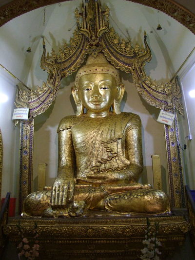 Buddha with Gold Applied by Pilgims Buddha Buddhism Buddhist Culture Buddhist Pagoda Buddhist Temple Composition Full Frame Gold Coloured Golden Buddha Indoor Photography Inle Lake Kakku Light And Shadow Myanmar Pilgimage Place Of Prayer Place Of Worship Religion Shan State Tourism Tourist Attraction  Tourist Destination